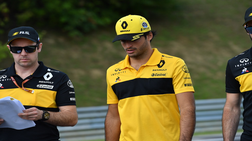 GP de Hungría: Sainz, uno de los invitados en la rueda de prensa