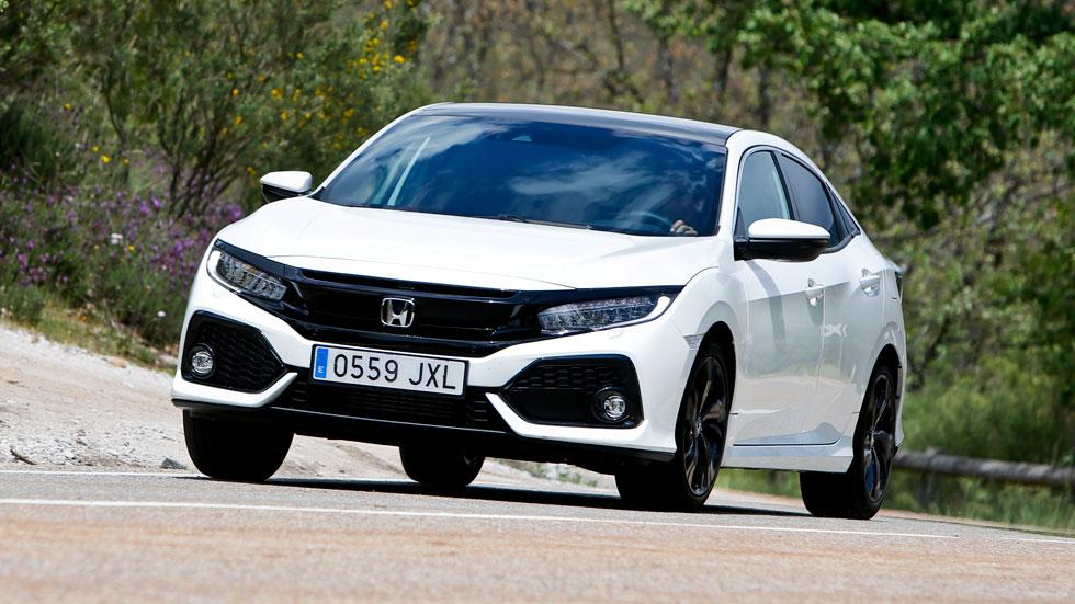 """A prueba el Honda Civic 1.0 i-VTEC Turbo 129 CV: """"pequeño gran"""" gigante"""