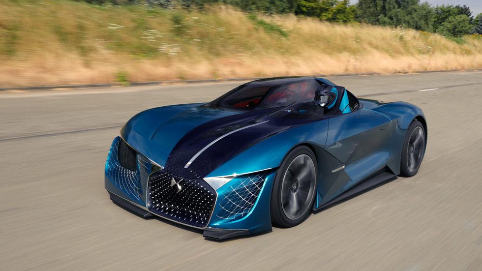 DS X E-Tense: el deportivo de ensueño y autónomo del futuro