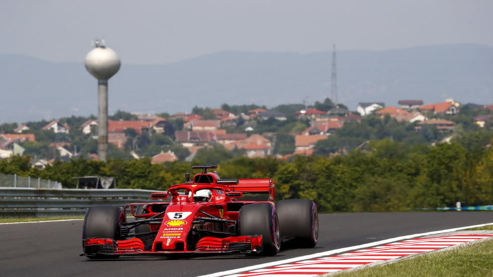 GP de Hungría (FP2): Vettel se acerca al récord de vuelta más rápida