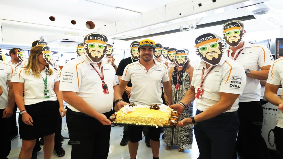 GP de Hungría: ¡feliz cumpleaños, Fernando!
