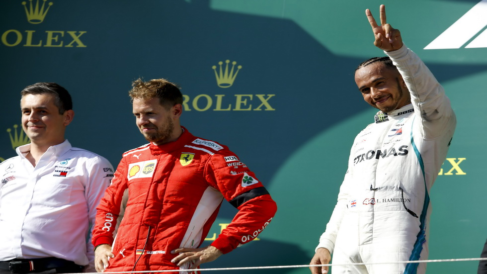 GP de Hungría: Hamilton separado de Vettel por 24 puntos