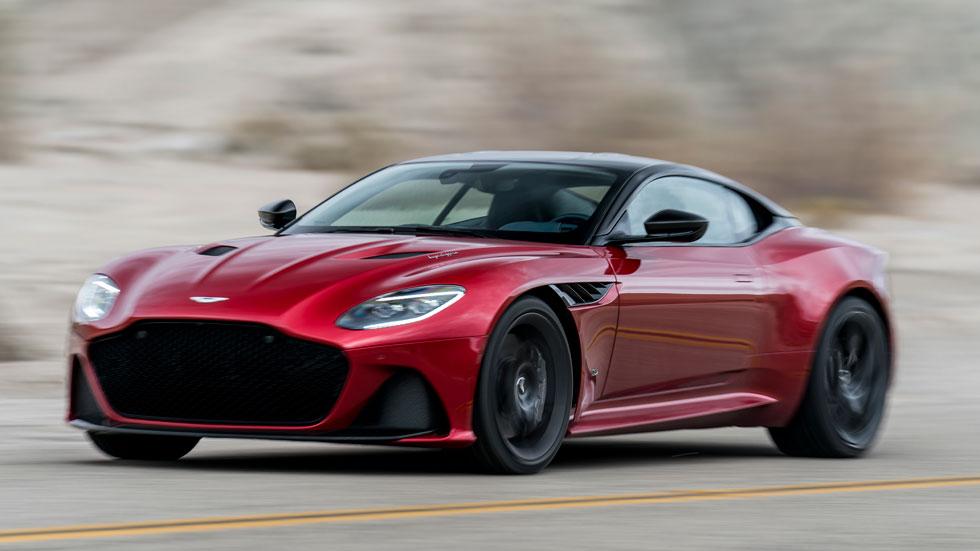 Aston Martin DBS Superleggera: a prueba uno de los deportivos más rápidos