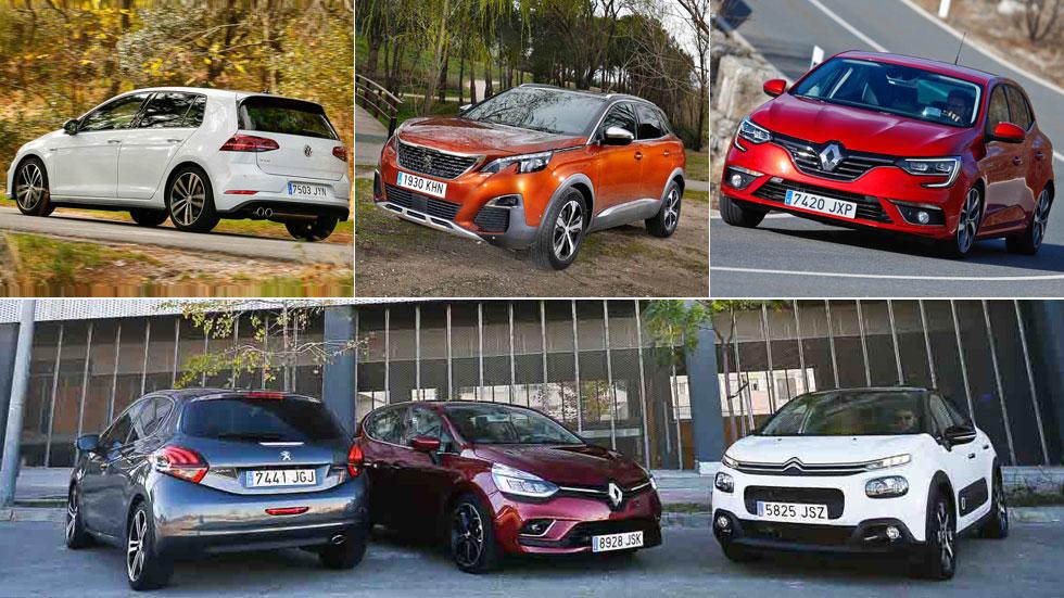 Los 20 coches y SUV más vendidos en Europa en lo que va de año