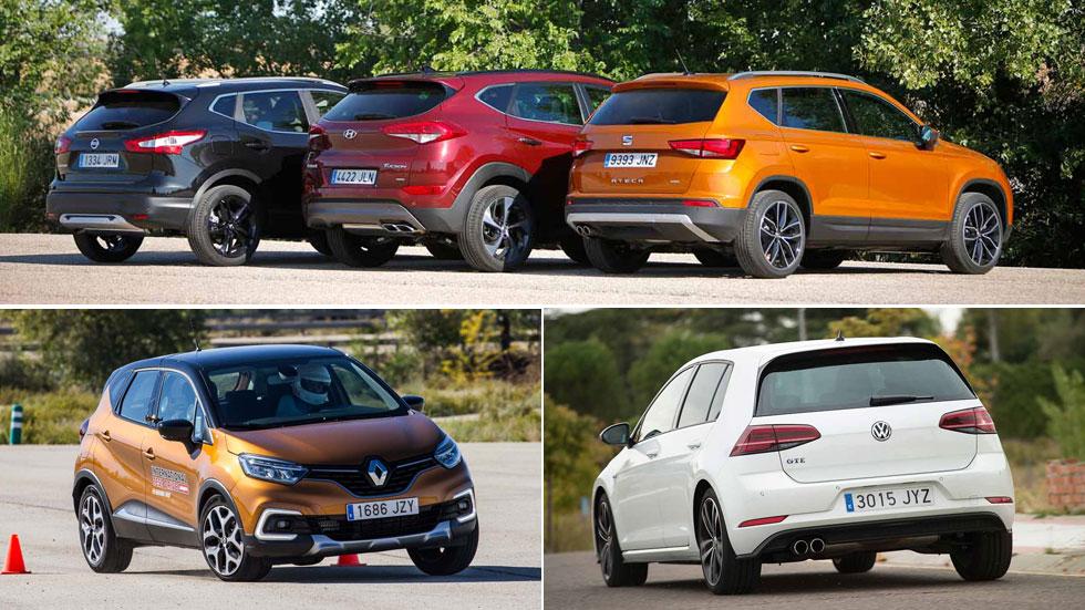Los 10 coches y los 10 SUV más vendidos en julio en España