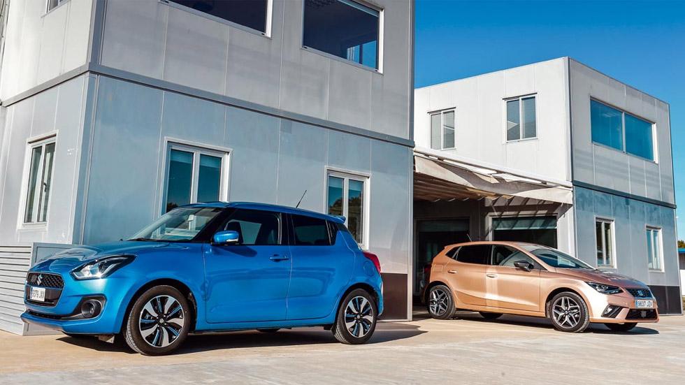 Seat Ibiza 1.0 EcoTSI 115 vs Suzuki Swift 1.0 SHVS: millenials