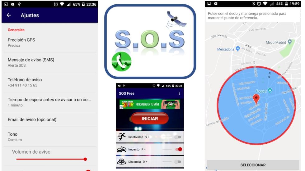 SOS gratis: la aplicación que puede salvarte la vida en caso de accidente