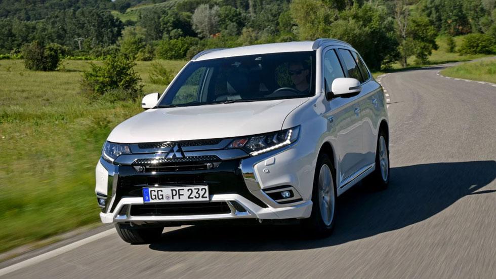 Mitsubishi Outlander PHEV 2019: el SUV híbrido enchufable, ahora más potente