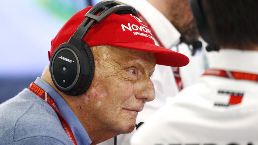 Fórmula 1: Niki Lauda, en estado crítico