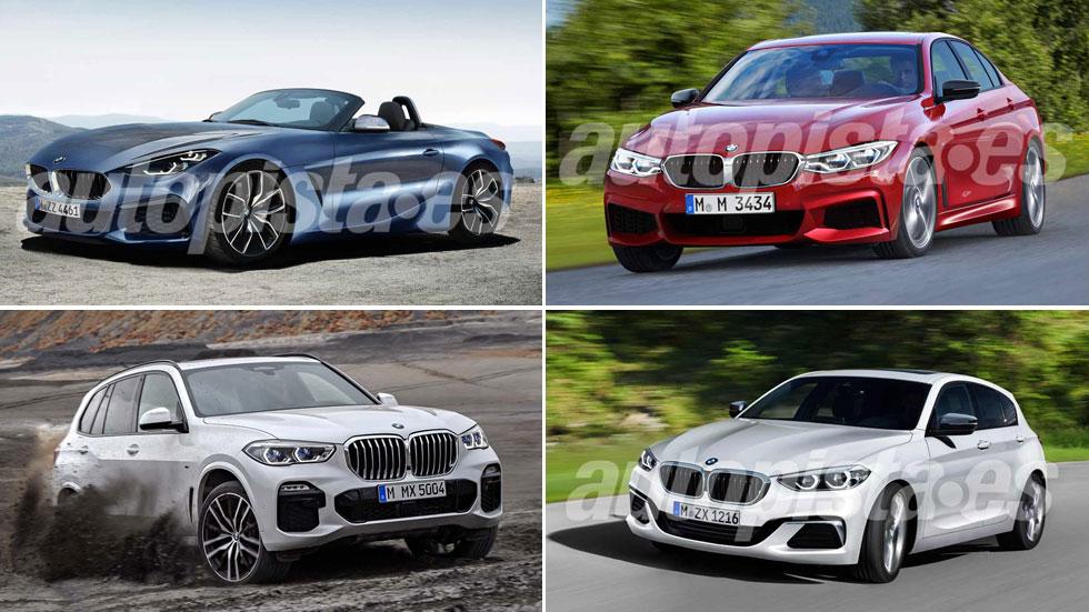 Los coches y SUV de BMW hasta 2020: Serie 1, Serie 3, Z4, X5, X7…
