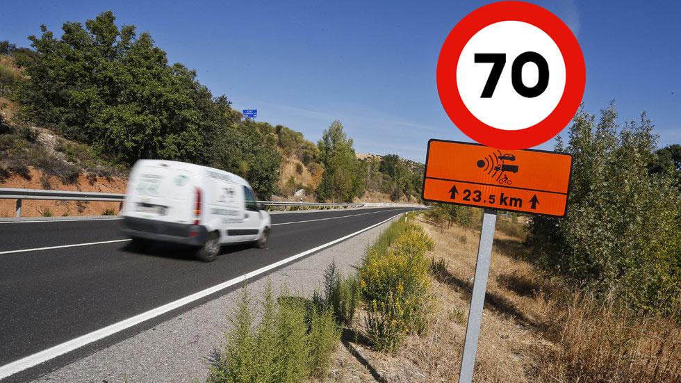Limitar las carreteras secundarias a 70 km/h: ¿en estudio por la DGT?