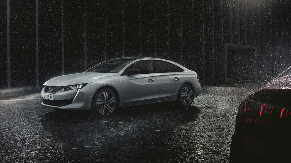 Peugeot 508 2018: así aparca automáticamente (Vídeo)