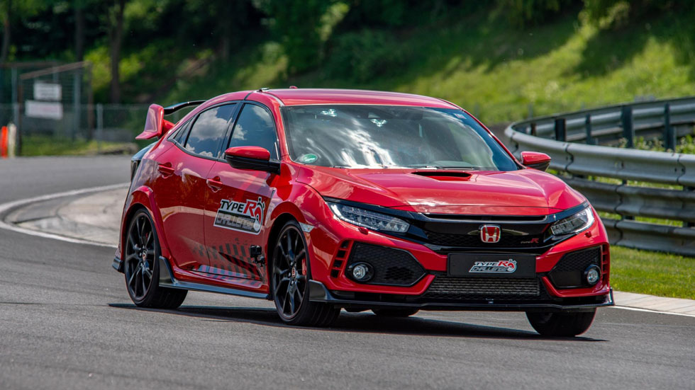 El Honda Civic Type R completa en Hungaroring su repóquer de récords (Vídeo)