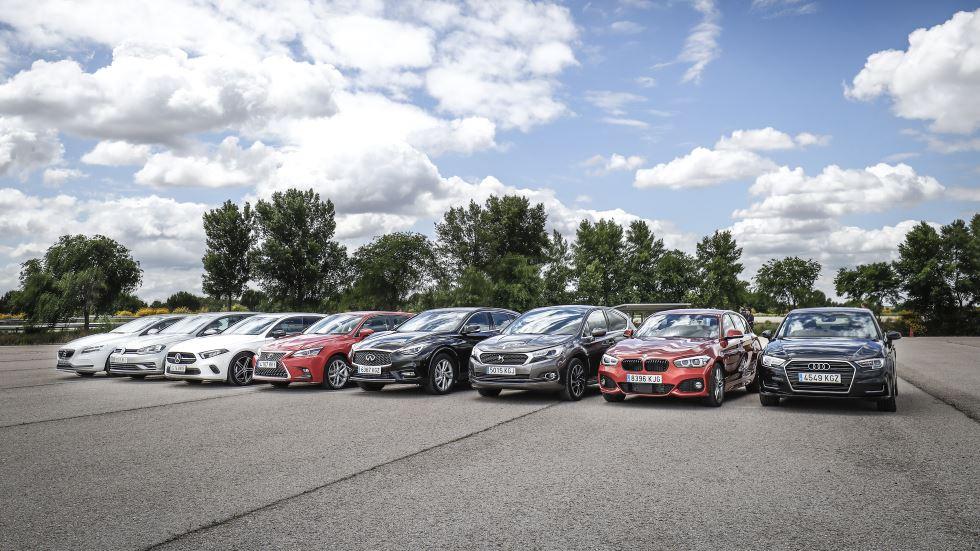El compacto más dinámico: A3, Serie 1, Clase A, Golf, V40, Q30, CT y DS 4