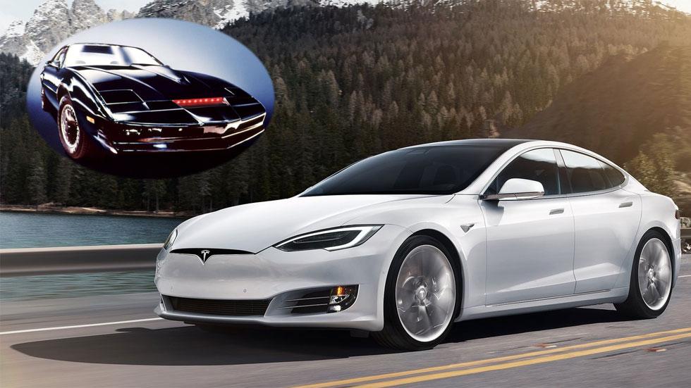 Musk dice que los futuros Tesla serán como K.I.T.T., el coche fantástico