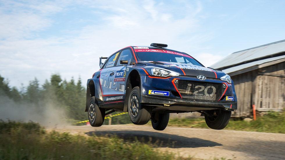 Hyundai i20 R5: más que un coche de rallyes