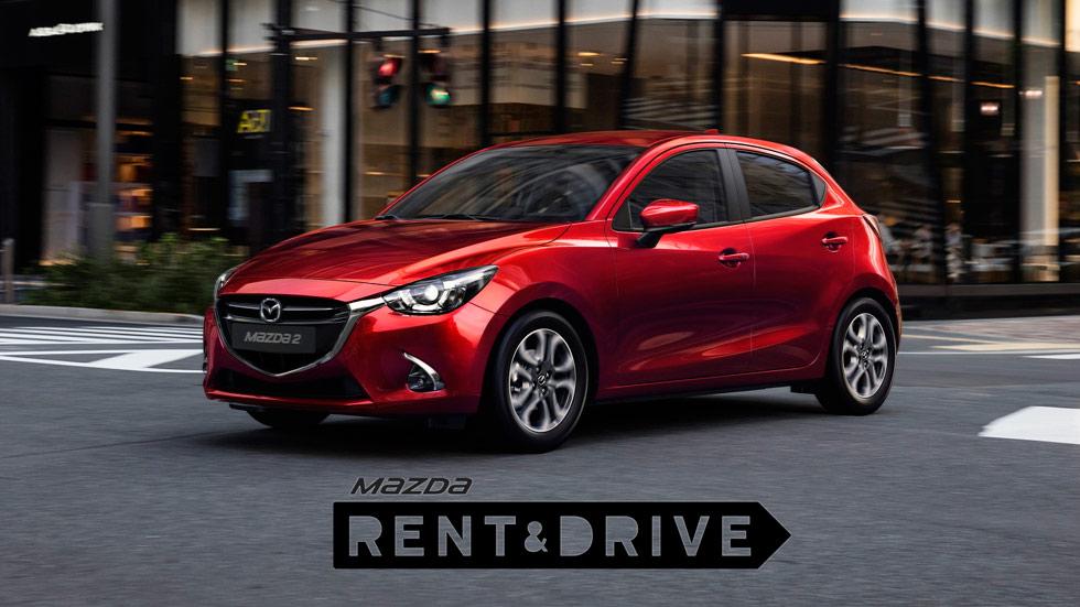 Mazda Rent&Drive: nuevo renting de particulares, desde 6 € al día