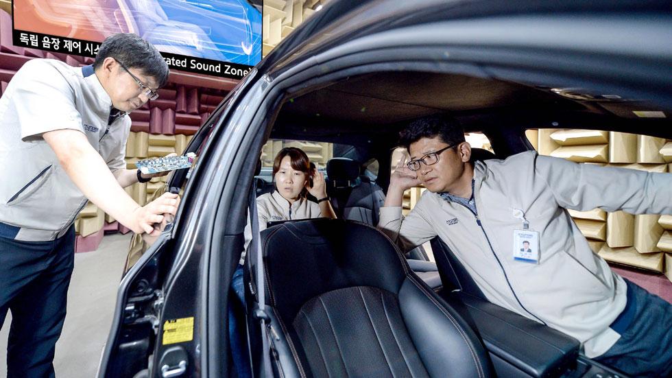 Kia y sus nuevas zonas de sonido separadas en el coche, en VÍDEO