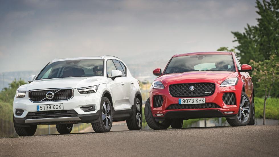Comparativa SUV: Jaguar E-Pace vs Volvo XC40,  ¿cuál es mejor?