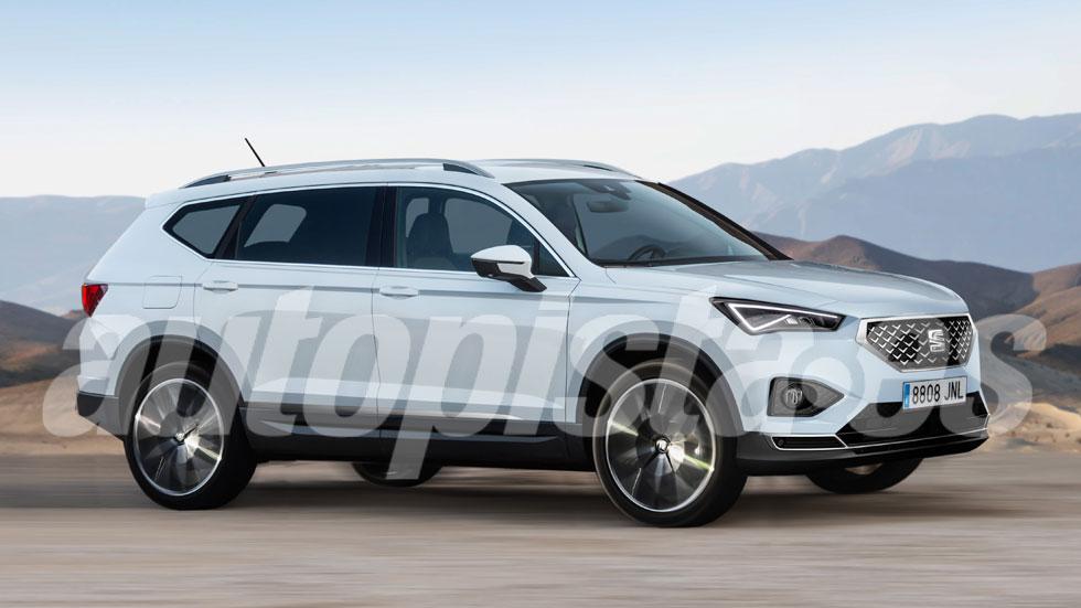 Seat Tarraco 2019: así es el diseño del nuevo SUV