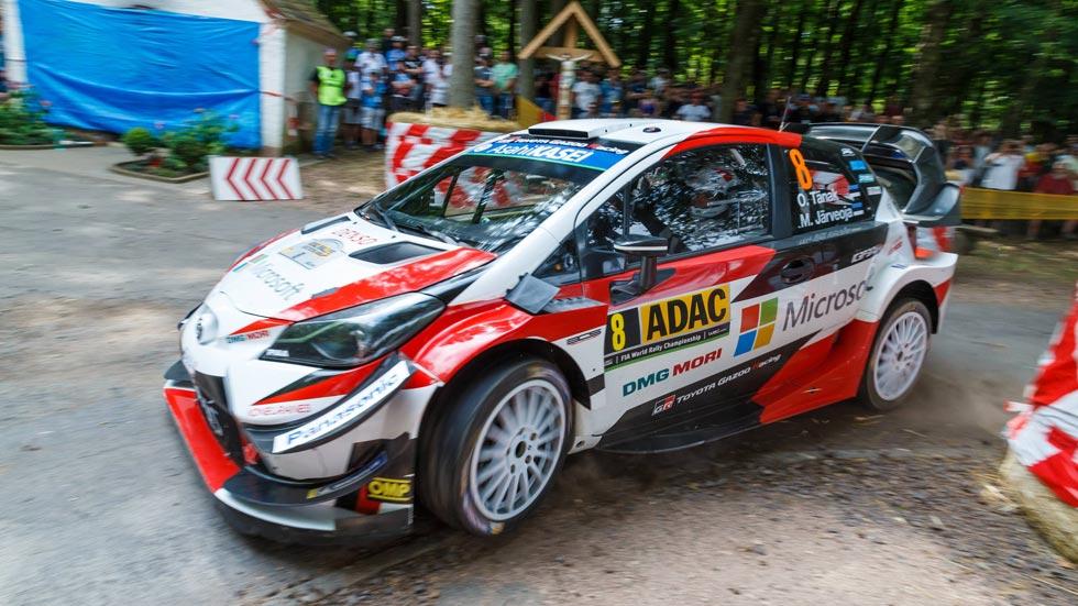 Rally de Alemania 2018: segunda victoria consecutiva para Tänak