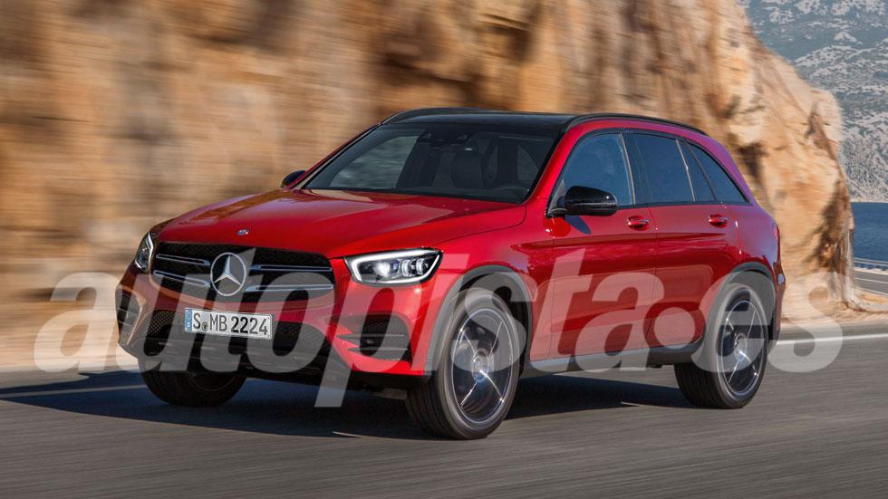 Mercedes GLC 2020: primeros datos e imágenes del renovado SUV