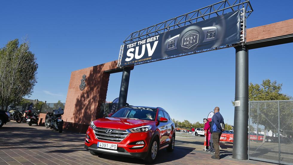 Test The Best SUV 2018: cómo, cuándo y dónde probar los mejores SUV