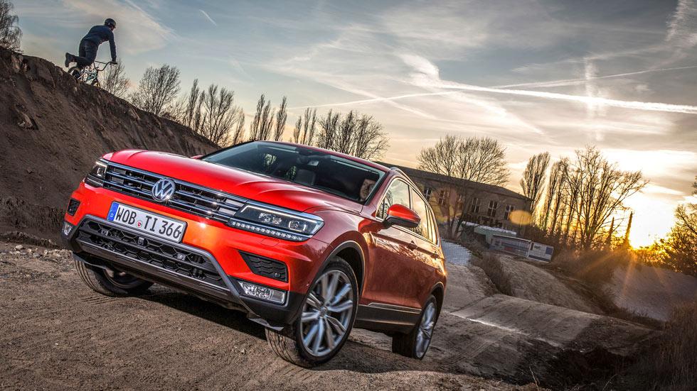 Volkswagen revisará unos 700.000 Tiguan y Touran por un problema en el techo