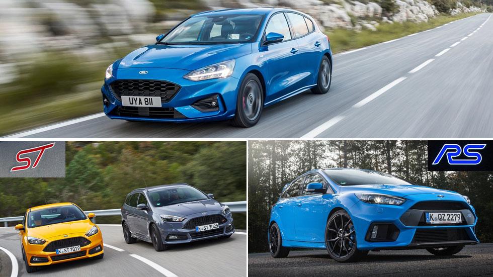 Ford Focus ST 2019 y RS 2020: los Focus más deportivos toman forma