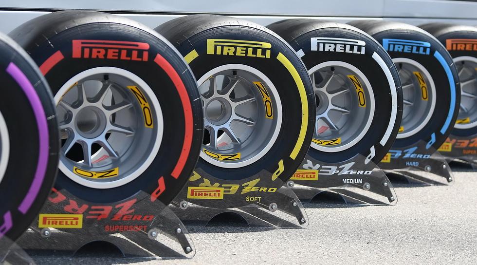 GP de Bélgica: medio, blando y súper blando para Spa-Francorchamps