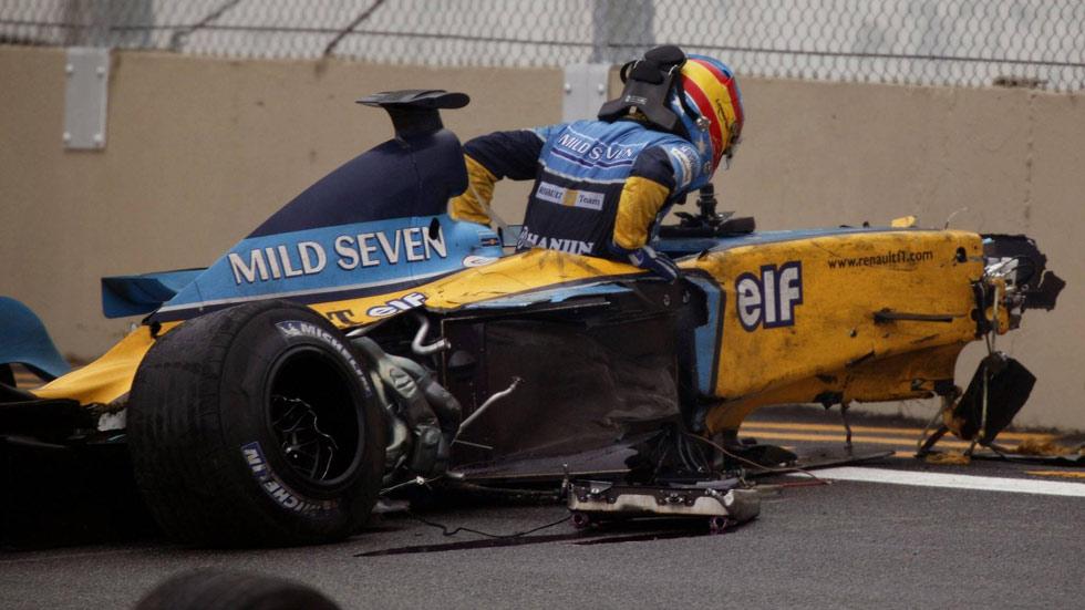 Fernando Alonso: sus 10 peores momentos en la Fórmula 1