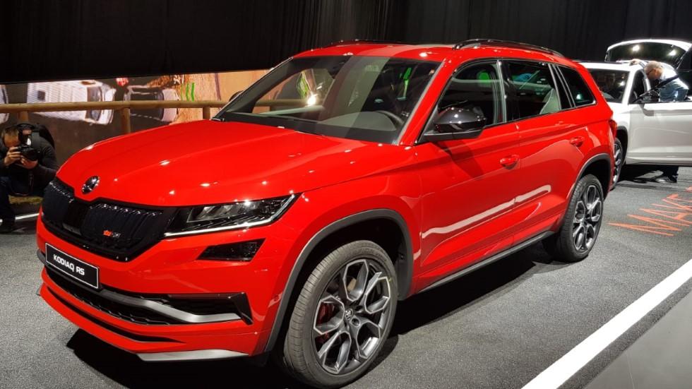 Skoda Kodiaq RS: datos y fotos oficiales del nuevo SUV deportivo
