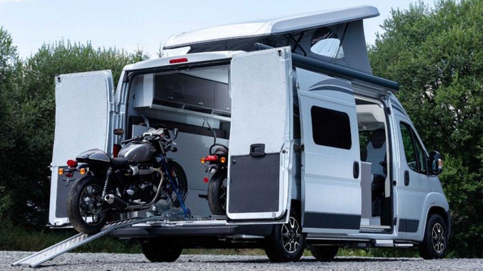 Citroën Jumper Biker Solution: el camper para ir de vacaciones con tu moto