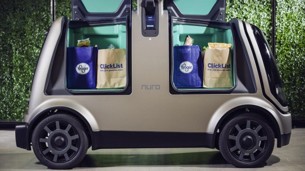 El supermercado que ya prueba el reparto con coches autónomos