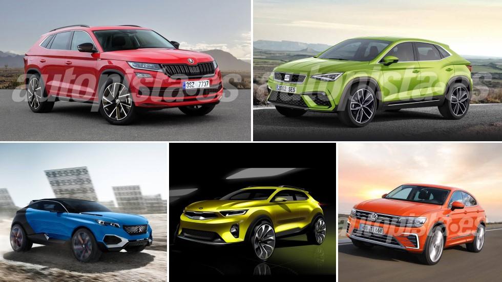 Los SUV coupé que llegan: Renault Arkana, Tiguan, Sportage, Seat CUV, 4008…