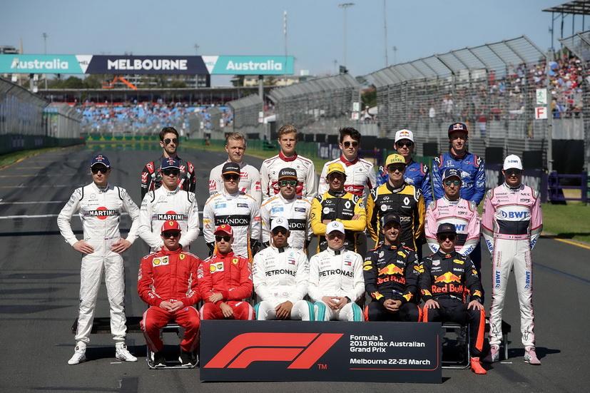 Así esta, por ahora, la parrilla de F1 para la temporada 2019