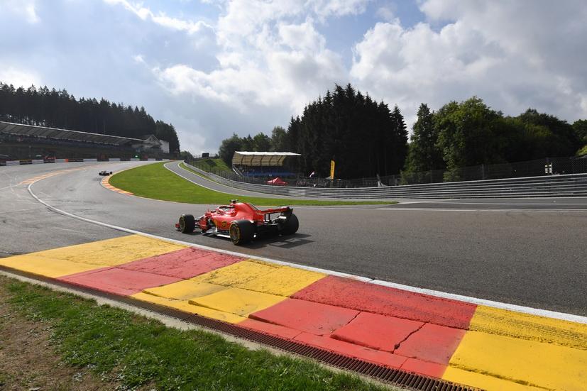 GP de Bélgica (FP1): Vettel dominó la primera sesión
