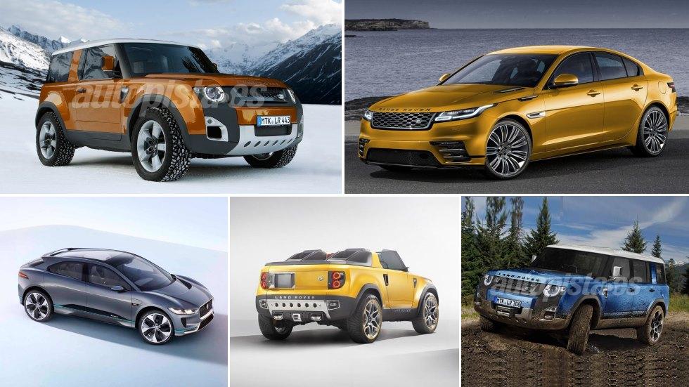Los nuevos Jaguar y Land Rover hasta 2022: Evoque, baby Range, C-Pace…