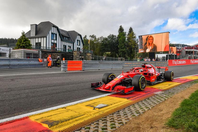 GP de Bélgica (FP3): otra vez los Ferrari