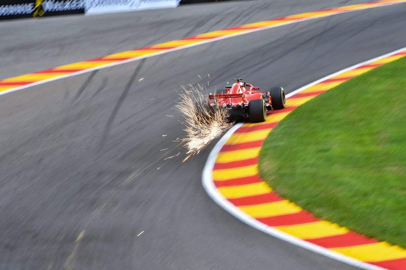 GP de Bélgica: Vettel bate el récord de la pista de Spa-Francorchamps