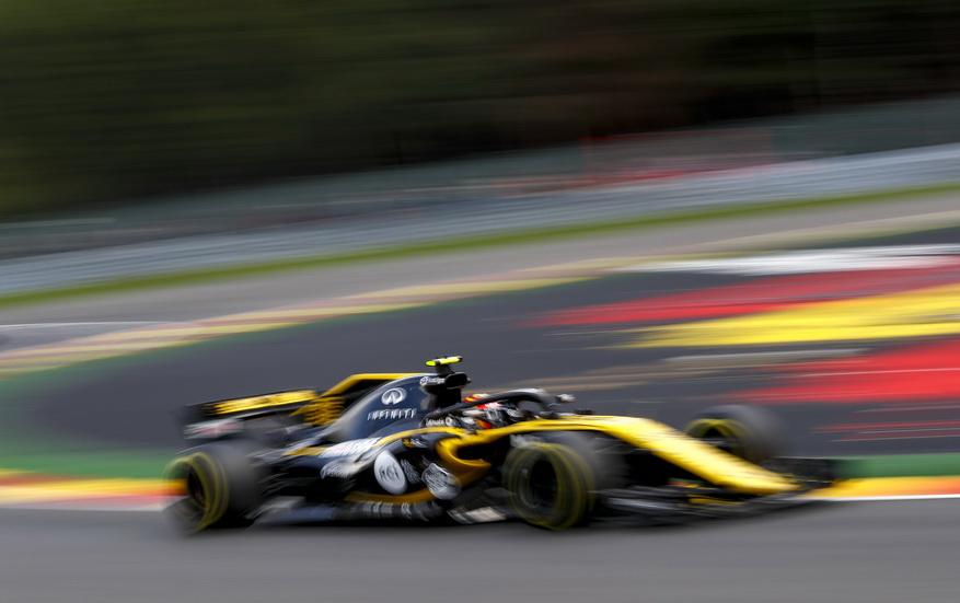 GP de Bélgica: Sainz y Vandoorne cambia sus unidades de potencia