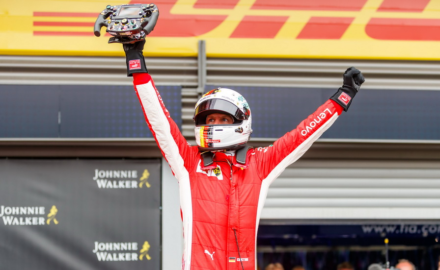 GP de Bélgica: clasificaciones del Gran Premio
