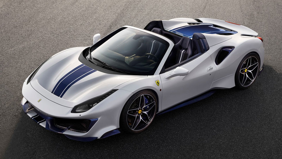 Ferrari 488 Pista Spider: la nueva obra de arte deportiva del Cavallino