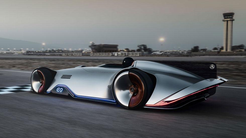 Mercedes EQ Silver Arrow, monoplaza eléctrico con genes de competición