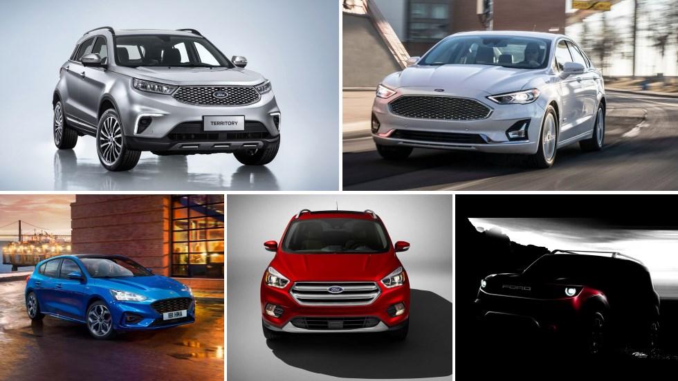 Los nuevos Ford que llegan: más SUV, Kuga, Mondeo, Focus ST, EcoSport…