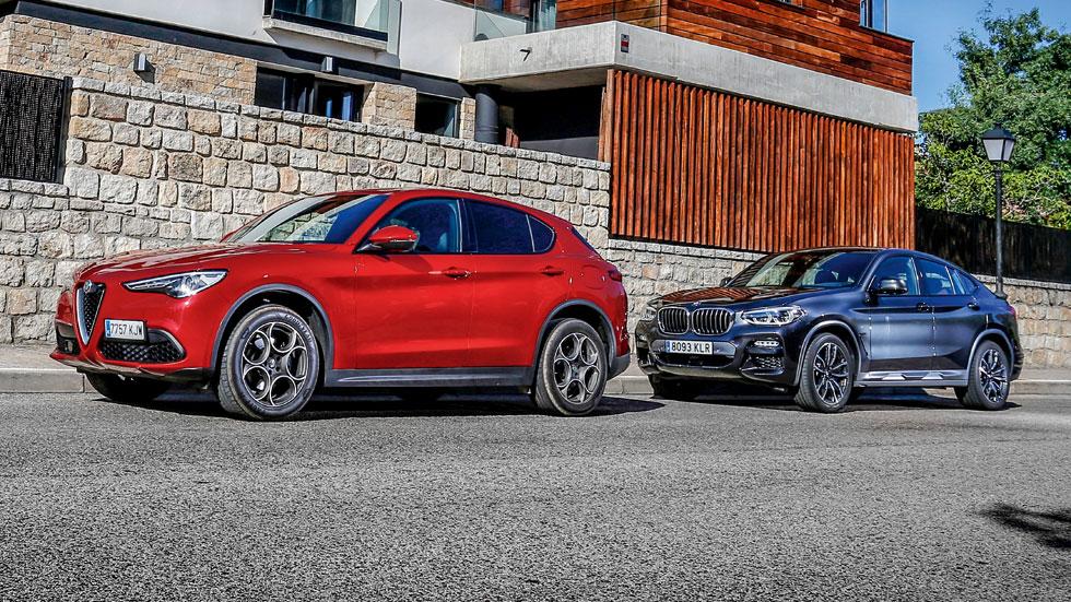Alfa Romeo Stelvio vs BMW X4: ¿qué SUV es mejor?
