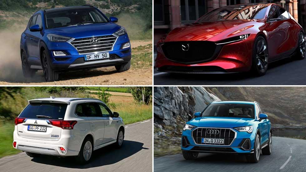 Las mejores novedades hasta final de año: Tucson, Q3, Mazda3, Tarraco…