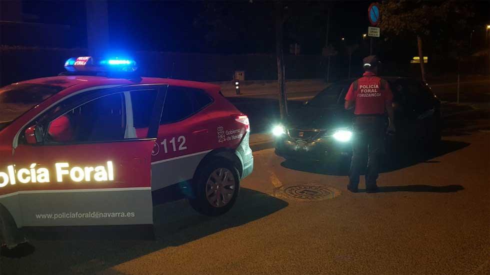 Detenido tras conducir drogado, sin carné y adelantar a 180 km/h a la policía