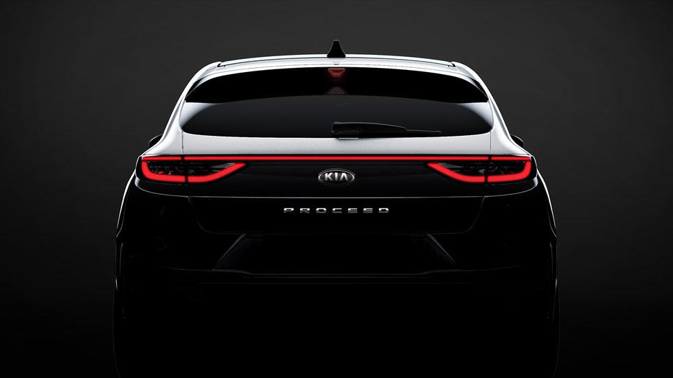 Nuevo Kia Proceed: un shooting brake entre berlina y familiar
