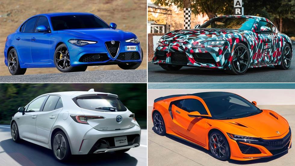 Coches que vuelven: Toyota Corolla, Hyundai Tucson, Alfa Giulia, Honda NSX...